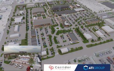 Corridor Plaza Development